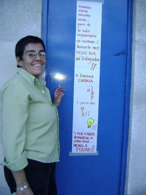 HOMENAJE EN VIDA A DAMIAN ZABALA - ENCARGADO DEL CONSORCIO ALTOS DE ABILENE