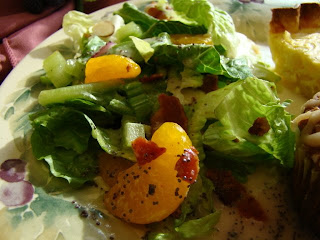 Krista's Kitchen: Romaine and Orange Salad with Poppyseed Dressing