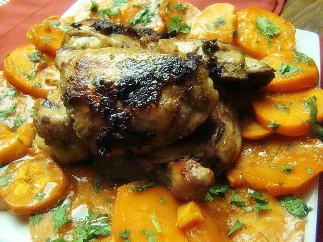 krista's kitchen jamaicanspiced chicken thighs and rum