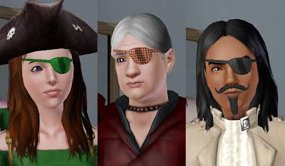 Sims 2 eye patch
