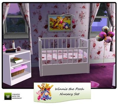 Winnie The Pooh Wallpaper For Nursery. Winnie the Pooh Nursery Set by