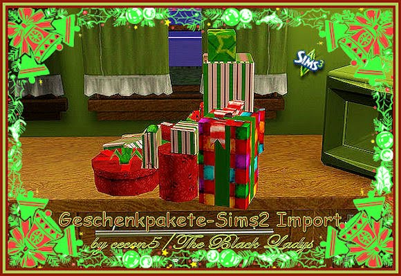 Christmas Decor Sims 3 : My sims more christmas decorations by cecon