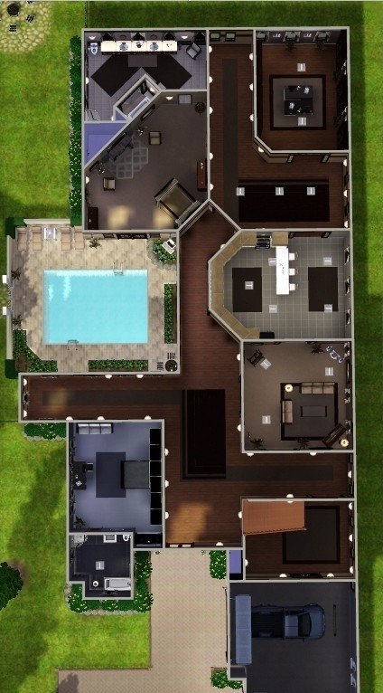 My Sims 3 Blog Woodlawn Estate By Fling 89