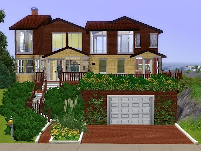 My sims 3 blog humble house by lili for Best house designs sims 3