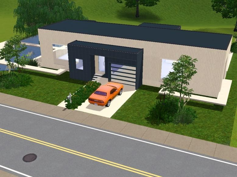 My sims 3 blog yalu residential by sims 3 modern houses for Sims 3 cuisine moderne