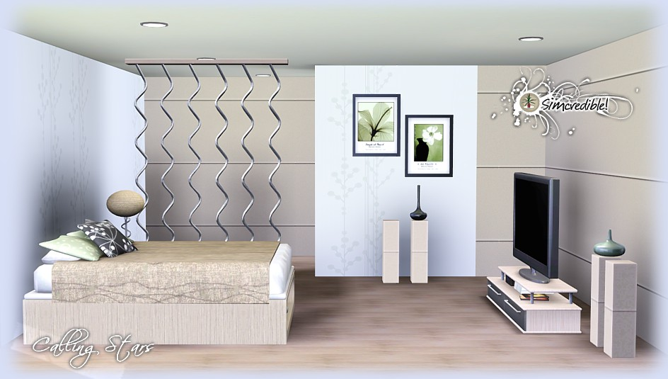 My Sims 3 Blog Calling Stars Bedroom Set By Simcredible Designs