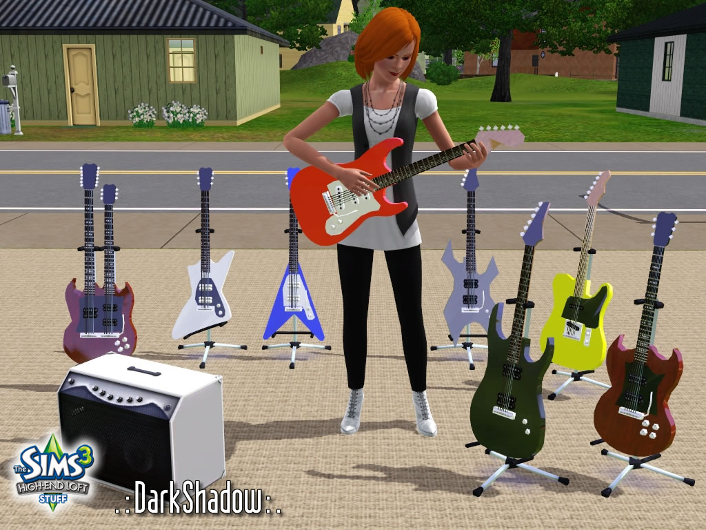 how to get guitar sims 4