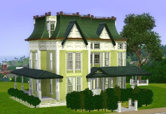 my sims 3 blog: victorian housejarkad