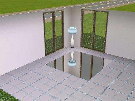 My Sims 3 Blog: Mirror Floor by Inge