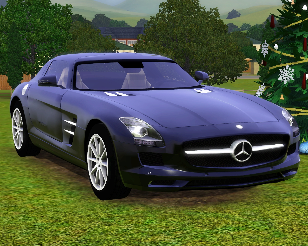 my sims 3 blog 2011 mercedes benz sls amg by fresh prince. Black Bedroom Furniture Sets. Home Design Ideas