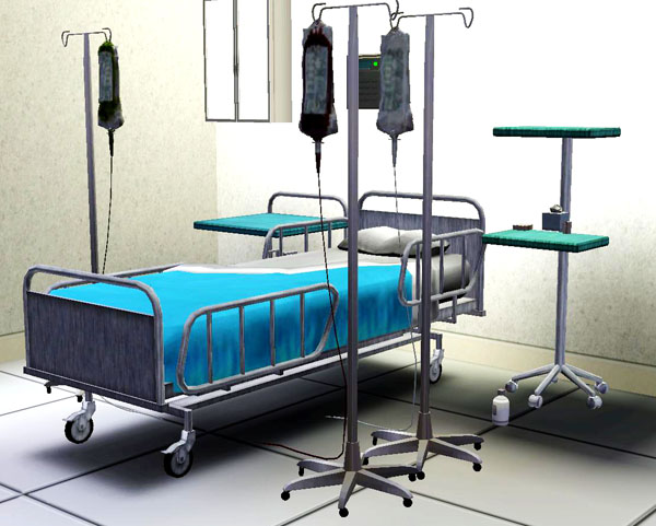 sims 4 how to go to hospital
