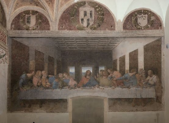 Image result for The Convent of Santa Maria delle Grazie, Milan the last supper