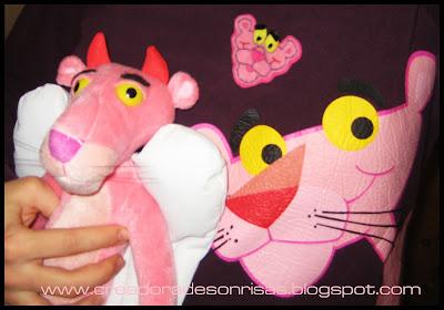 pantera rosa fieltro