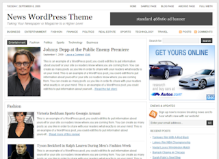 StudioPress NEWS Theme v1.0