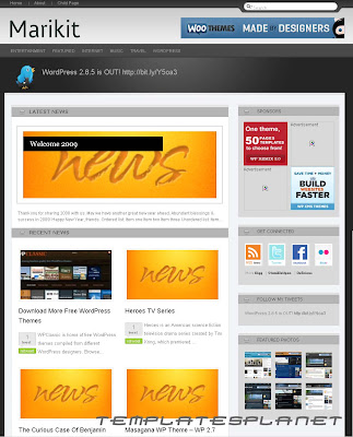 Marikit - Free WordPress Template