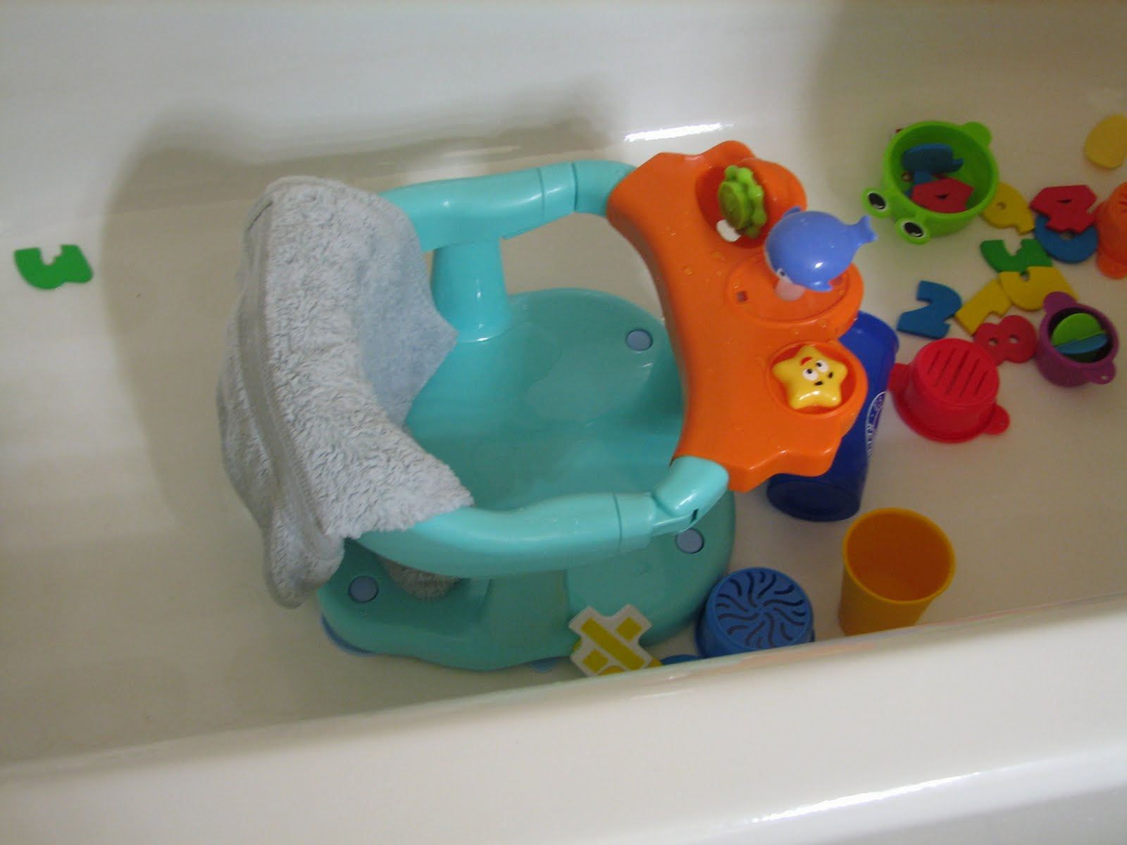 First Lady of the House: Infant Bath Chair