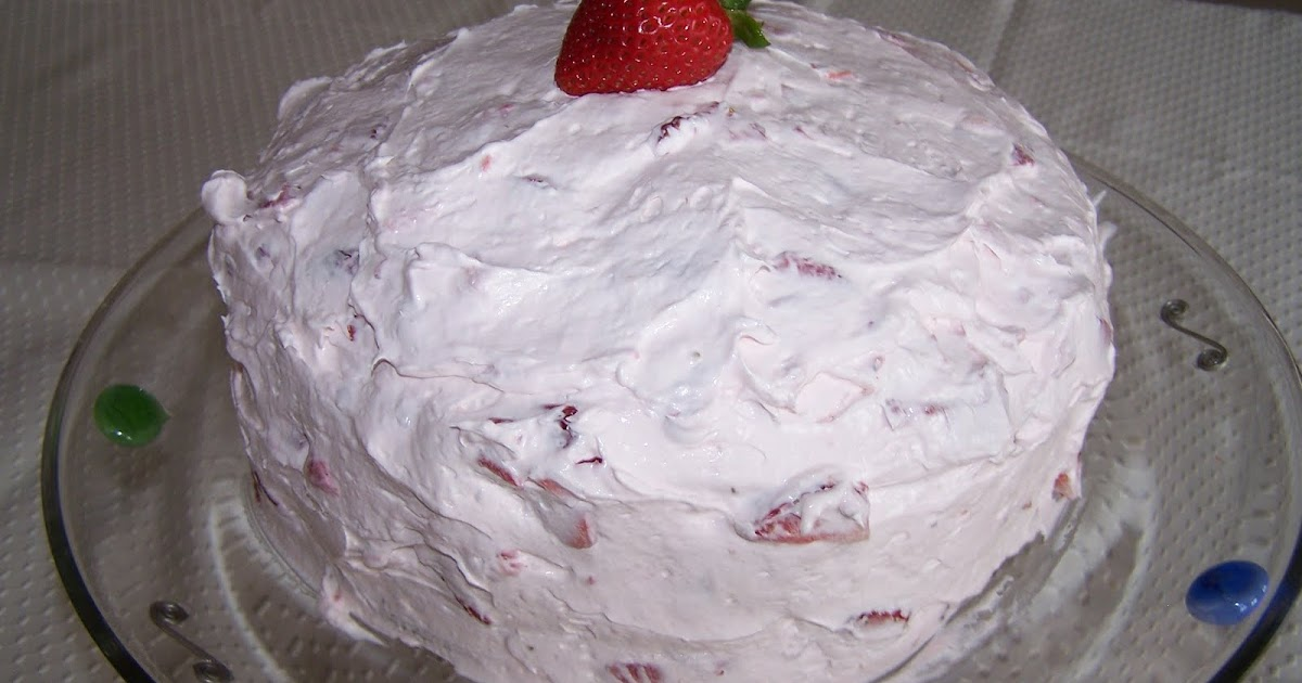Yarni Gras Val S Fresh Strawberry Cake