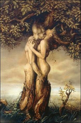 Резултат с изображение за baucis and philemon tree