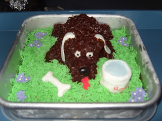 rover the dog cake
