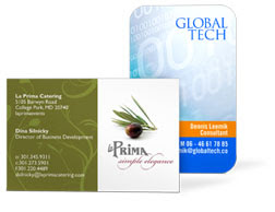 Gotprint european size business card example
