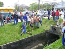 RBS TV e ClicRBS:Fugitivo tenta escapar por duto subterrâneo em Pelotas e acaba detido pela polícia