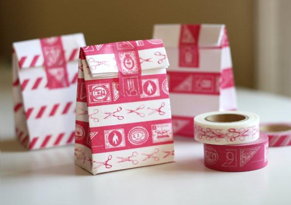Diy le petit sac en papier - Petit sac en papier pour mariage ...