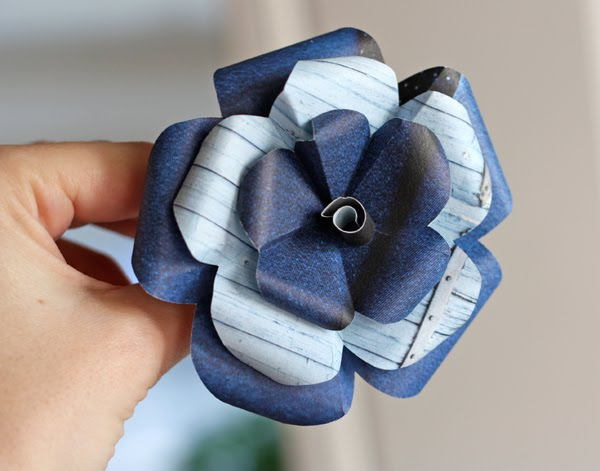 How to make recycled paper flowers how about orange for How to make recycled paper crafts