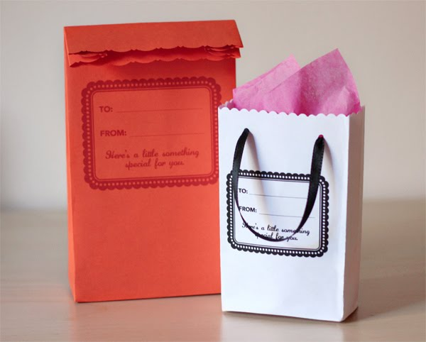 Gift bags made from envelopes | How About Orange