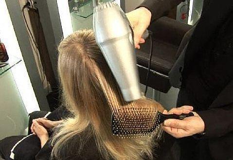 Вытянуть волосы в домашних условиях