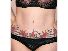 Tattoo to Cover Tummy Tuck Scar