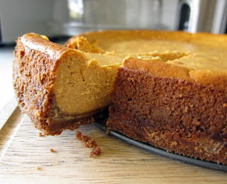 sweets by e pumpkin pie cheesecake with biscoff cookie crust