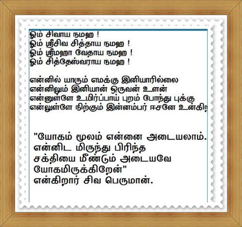 சிவசித்தர்வாக்கியம்