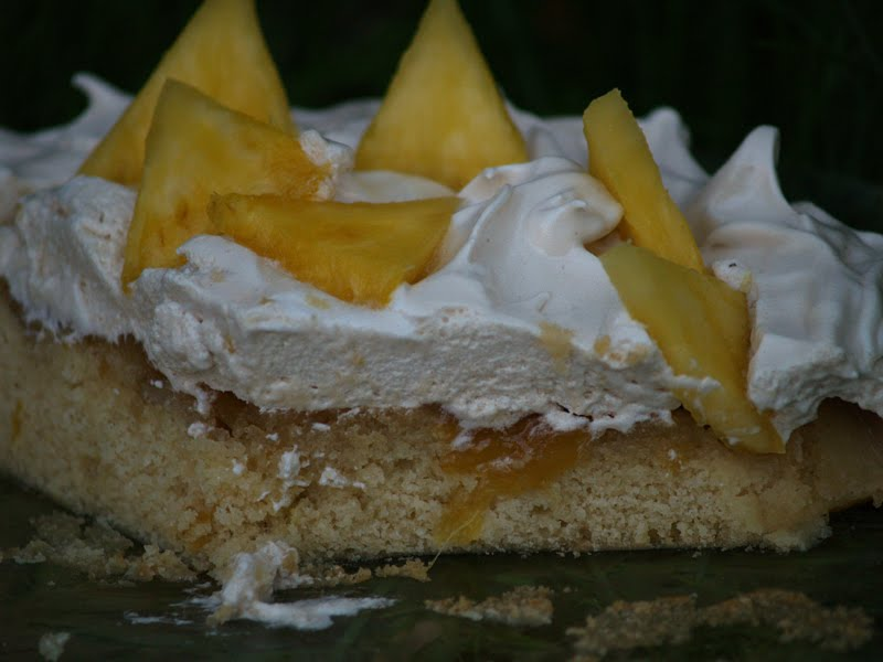 Best Pineapple Meringue Cake