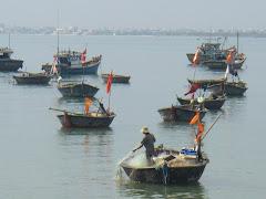 Fisherman off Da Nang