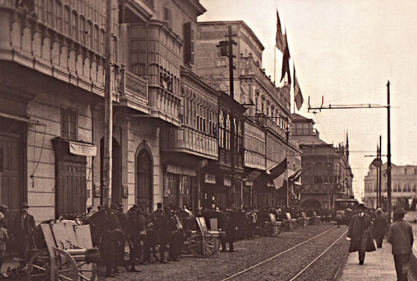The costume researcher about lima and its balconies la for Balcony origin