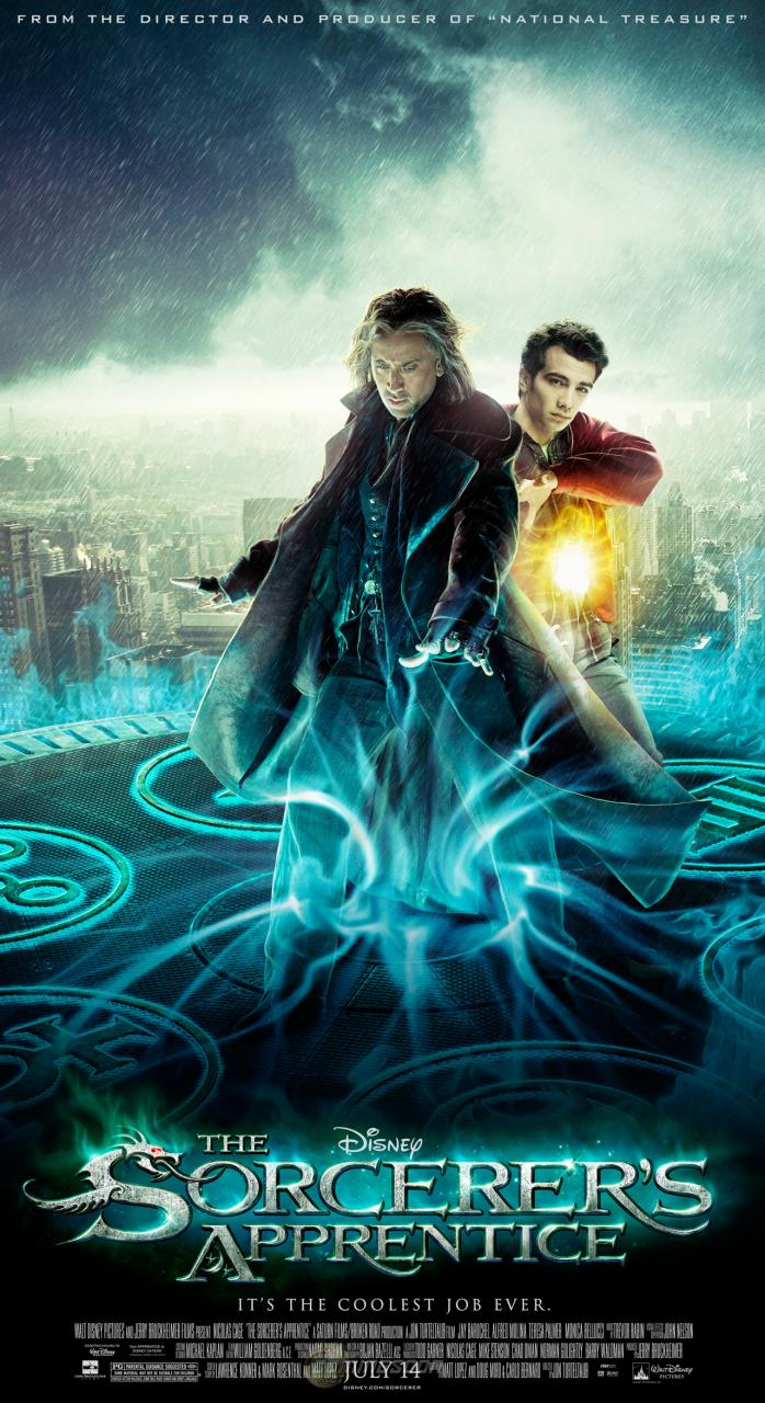 The Sorcerer Apprentice (2010) Poster