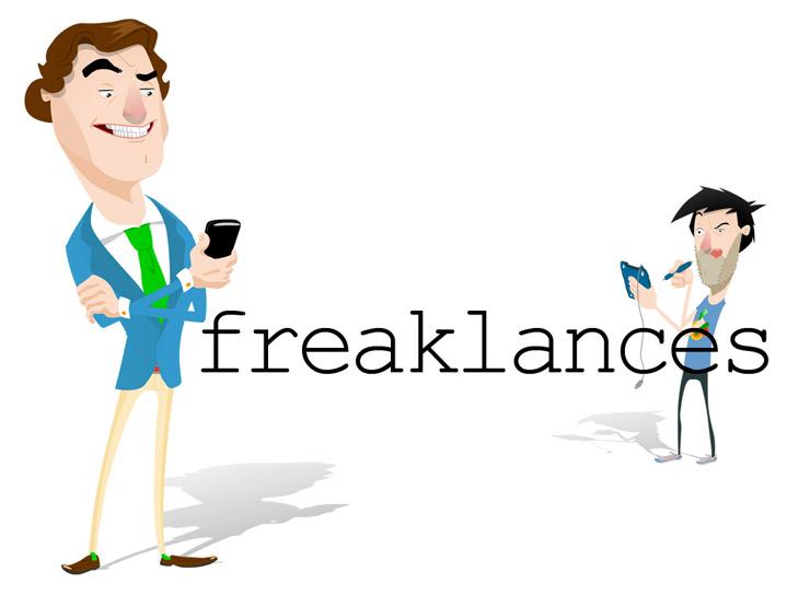 'freaklances', la serie