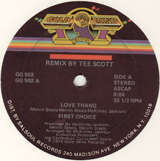 FIRST CHOICE - LOVE THANG
