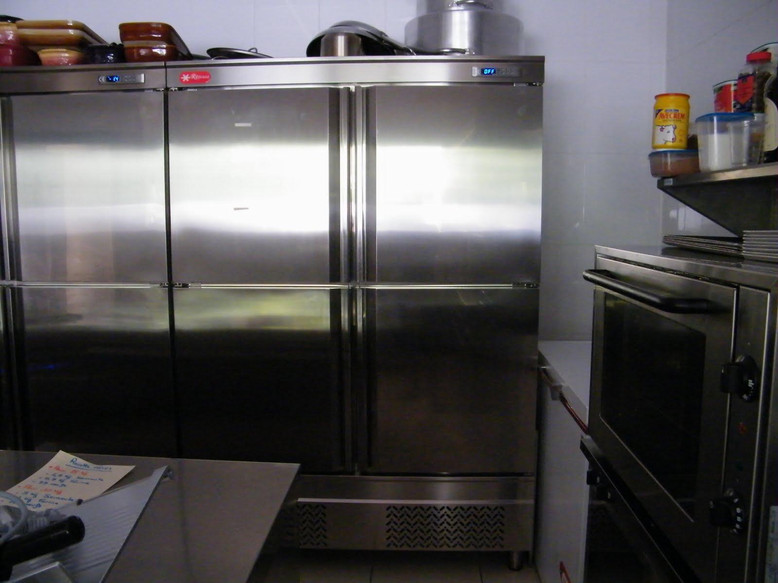 Venta material hosteleria segunda mano armario de refrigeraci n 4 puertas - Armarios 2 mano ...