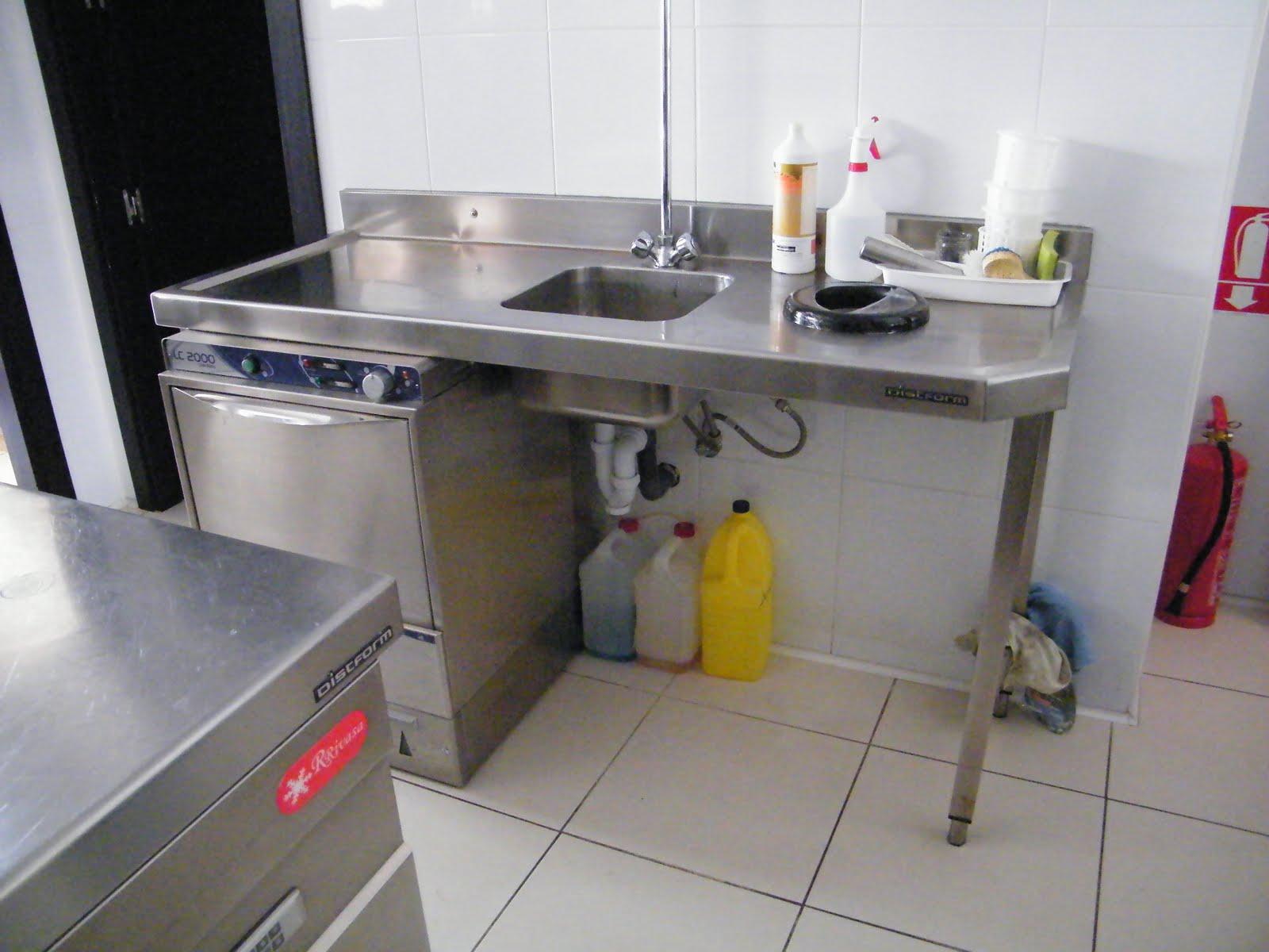 Venta material hosteleria segunda mano mesa lavabo for Lavabos segunda mano