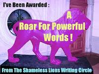 A Roar for Powerful Words