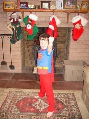 Santa's Super Hero