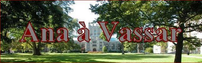 Ana à Vassar