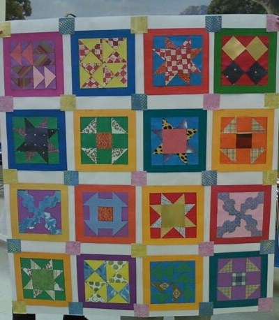 We Heart Art Freedom Quilts