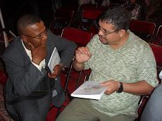 مع مدرير المندوبية الجهوية بأكادير لوزارة الثقافة الأستاذ عز الدين بونيت