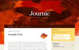 Journic High Quality Premium Blogger Template