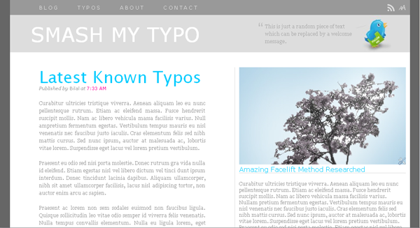 Smash My Typo Blogger-Blogspot Templates