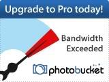 Photobucket bandwidth exceeded image