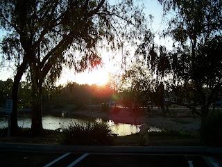 Sunset at Huntington Central Park