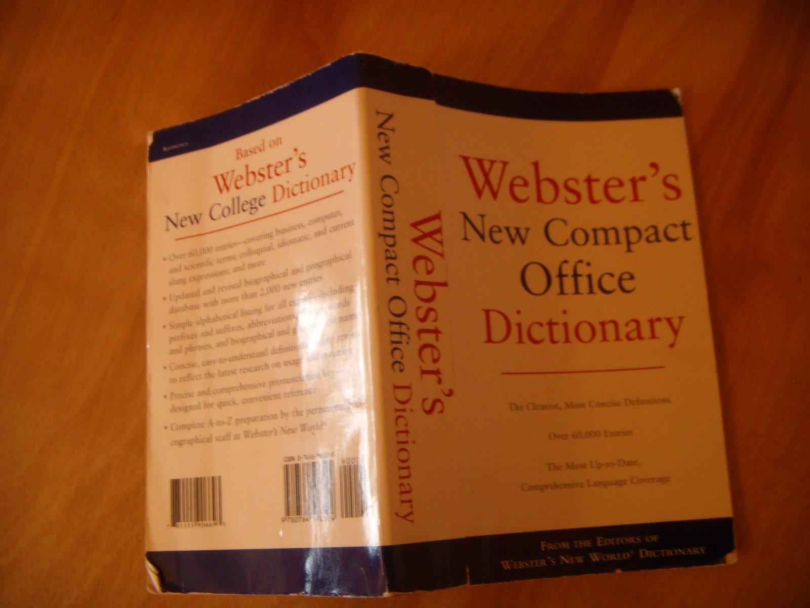 [Webster]